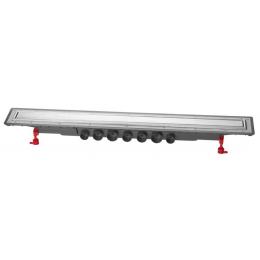 Découvrir Caniveau Venisio Expert 900 mm avec grille réversible