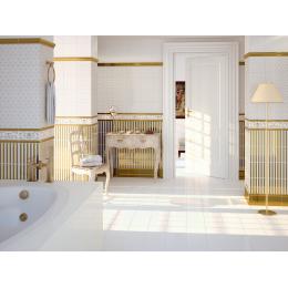 Sol Manoir blanco 20x20 cm