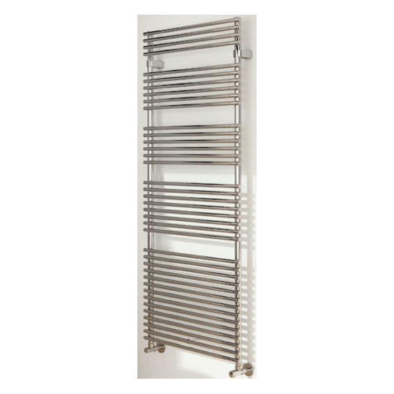 Radiateur Sèche-serviettes Flauto chromé eau chaude / mixte