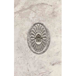 Découvrir Décor Marble gris 31,6*45 cm