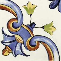 Découvrir Galan Flor Azul 20*20 cm