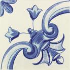 Galan Flor Azul.2 20*20 cm