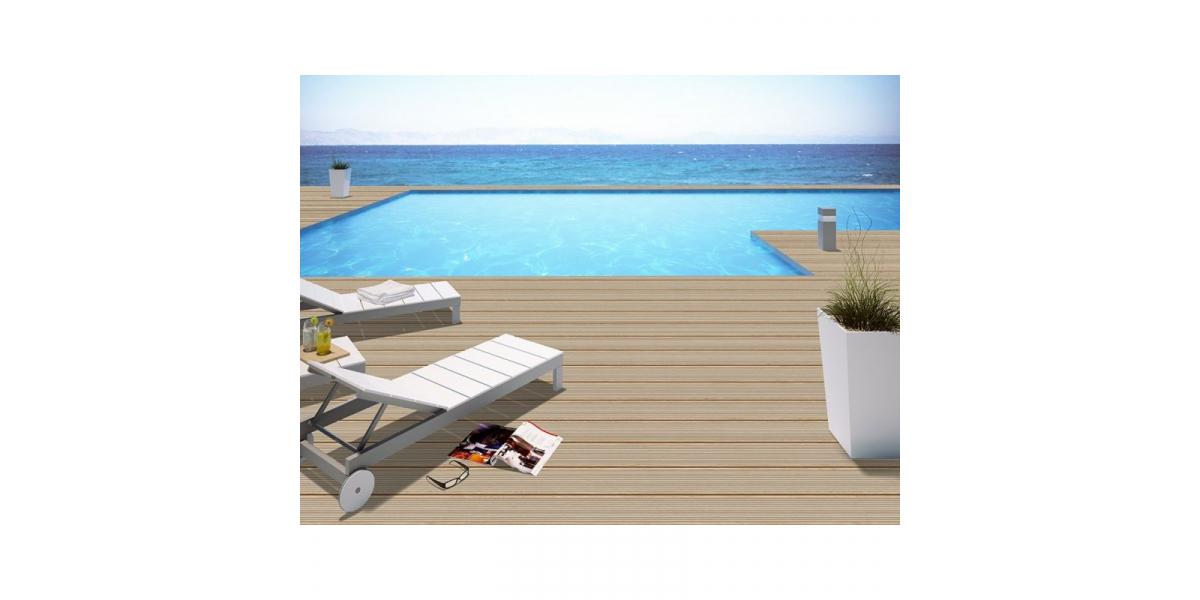 Carrelage lames de bois terrasse madera haya r11 20 120 cm for Carrelage lame de terrasse
