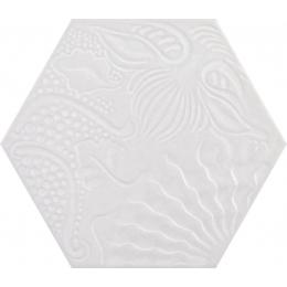 Découvrir Gaudi hex White 25x25 cm