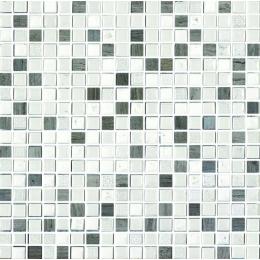 Découvrir Crystal piedra bianco-grigio 30*30cm