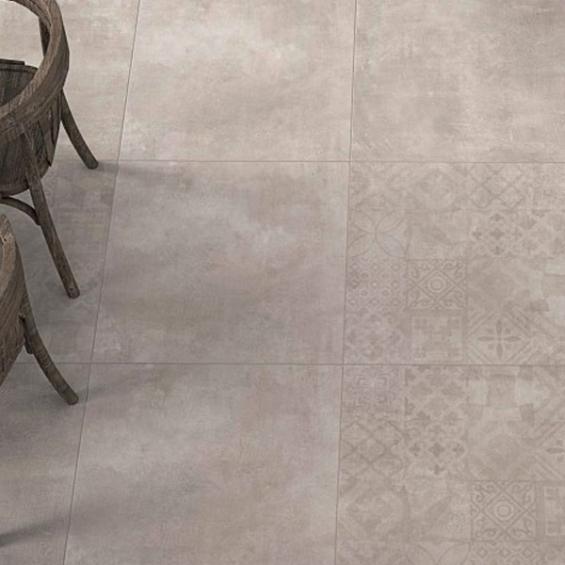 Sensation gris 60*60 cm
