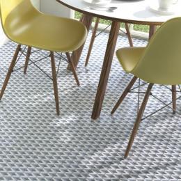 Carrelage sol effet carreaux de ciment Montmartre fiorella 15*15 cm