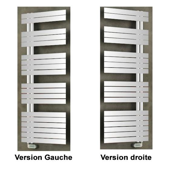 Radiateur Sèche-serviettes Soul gauche électrique