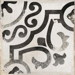 Carrelage sol effet carreaux de ciment Bayou rancho black 15*15 cm