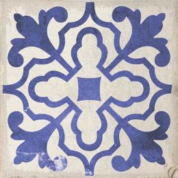 Carrelage sol effet carreaux de ciment Bayou villena blue 15*15 cm