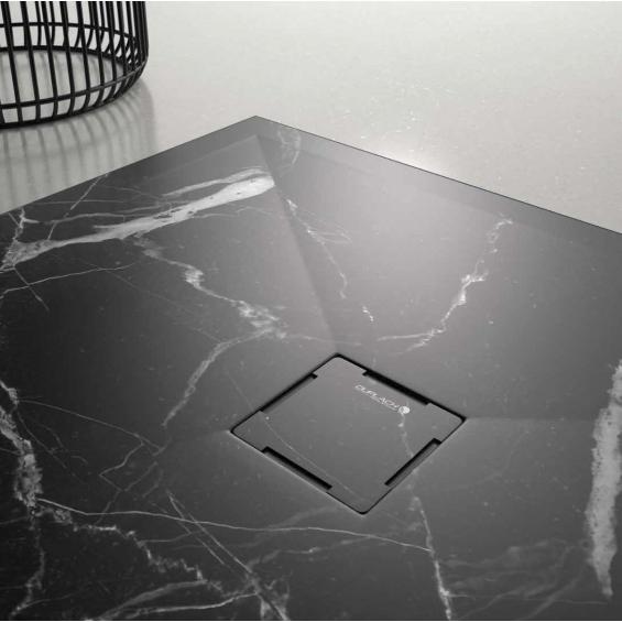 Ambiance receveur marbre noir