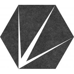 Découvrir Poséidon nero 25*25 cm
