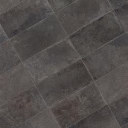 Carrelage sol effet pierre Calcaria Coal 30*60 cm