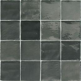Carrelage mur effet zellige mix grafito 10*10 cm