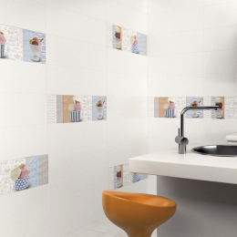 Carrelage mur Blanco mate 20*60 cm
