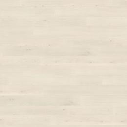 Island lame fine chêne Emilia blanc 13,5*128,2 cm