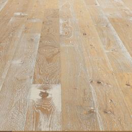 Parquet contrecollé Windsor chêne Atelier sauvage rétro planche large 18*220 cm
