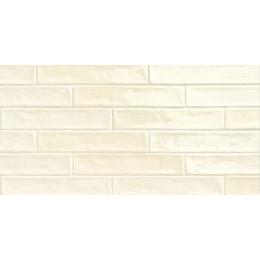 Carrelage mur effet zellige bone 5*25 cm