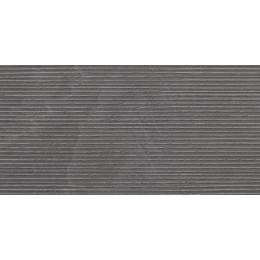 Carrelage sol et mur Onyx groove anthracite 60*120 cm