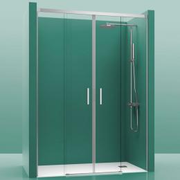 Découvrir Portes de douche 2 portes coulissante Cosmos
