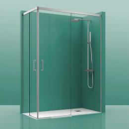 Découvrir Portes de douche angle 2 portes coulissante Cosmos