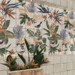 Belleville fresque décor sonata 20*20 cm