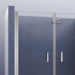 Portes de douche double pivotante Biarritz