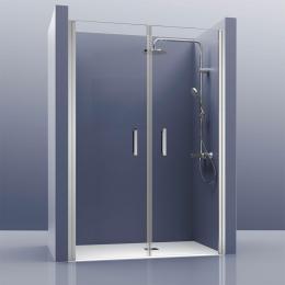 Découvrir Portes de douche double pivotante Biarritz