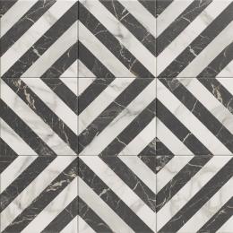 Découvrir Haussman décor dark 20*20 cm