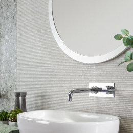 Carrelage mur Grano decors blanco 25*75 cm