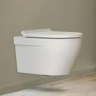 Cuvette suspendue WC Rio blanc brillant