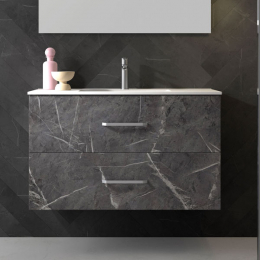Découvrir Meuble Bali effet marbre noir 60/80/100 cm