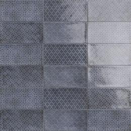 Carrelage mur Métro Decors Flamingo mix azuro 10*20 cm