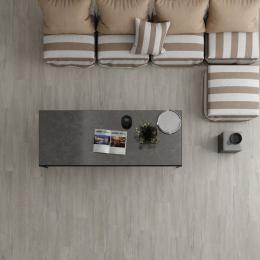 Carrelage sol imitation parquet Bermudes gris mat 20*120 cm