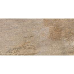 Carrelage sol extérieur effet pierre Futura gold R11 30*60,4 cm