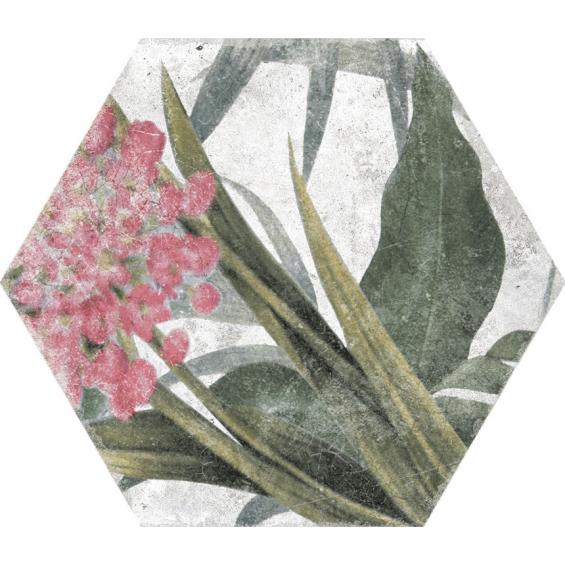Jungle decors aruba blanco 23*27 cm
