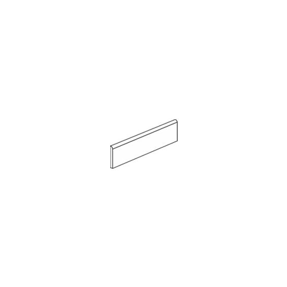 Plinthe Prisme 8*59,2 cm / Tous coloris